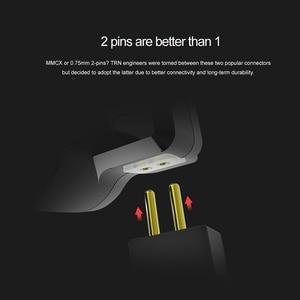 Image 5 - TRN V80 2BA + 2DD 하이브리드 리얼 메탈 이어폰 IEM HIFI DJ 모니터 러닝 스포츠 이어폰 이어 플러그 헤드셋 V90 X6