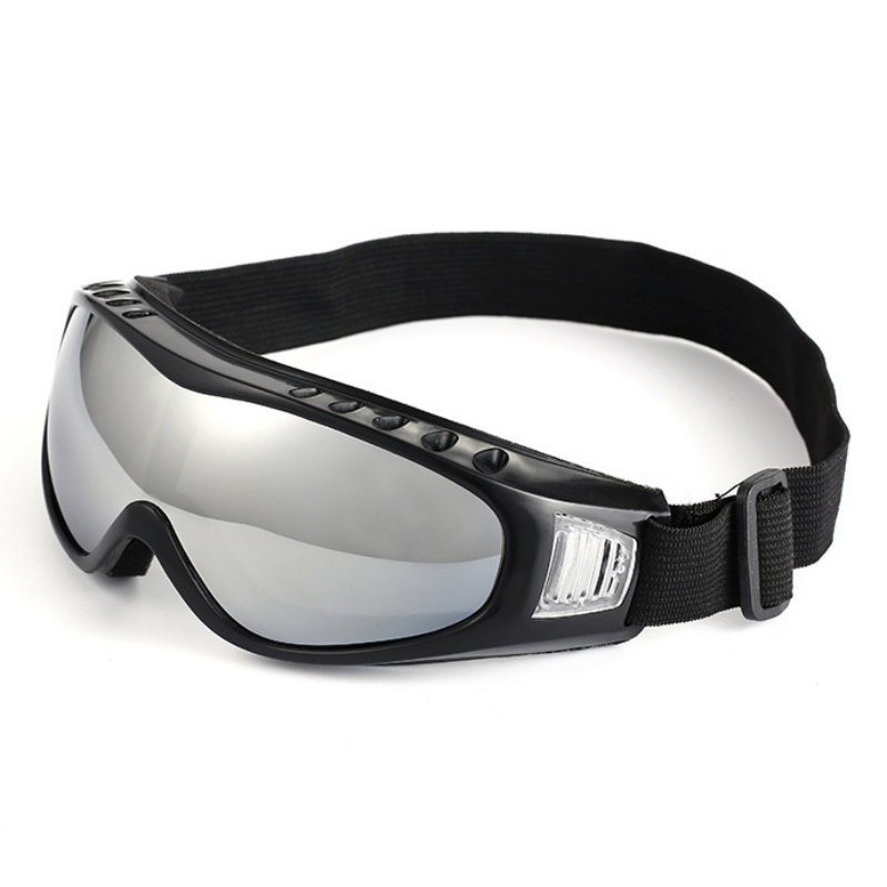 New Sports Ski Goggles Eyewear UV Protective Windproof Anti Fog Eyewear Snowboard Anti-Glare Glasses