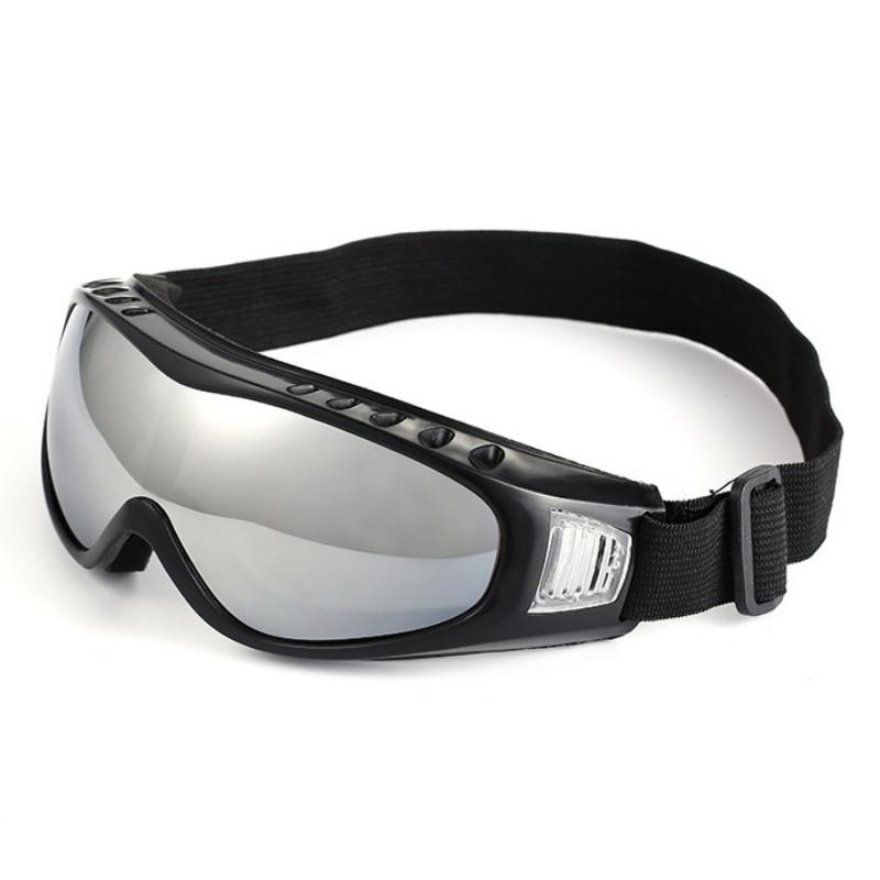 New Sports Ski Goggles Eyewear UV Protective Windproof Anti Fog Eyewear Snowboard Anti-Glare Glasses