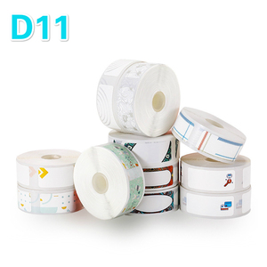 Niimbot D11 Printer Thermal Printer Paper Waterproof Anti-Oil Tear-Resistant Price Label Maker Stickers Office Home Stationery