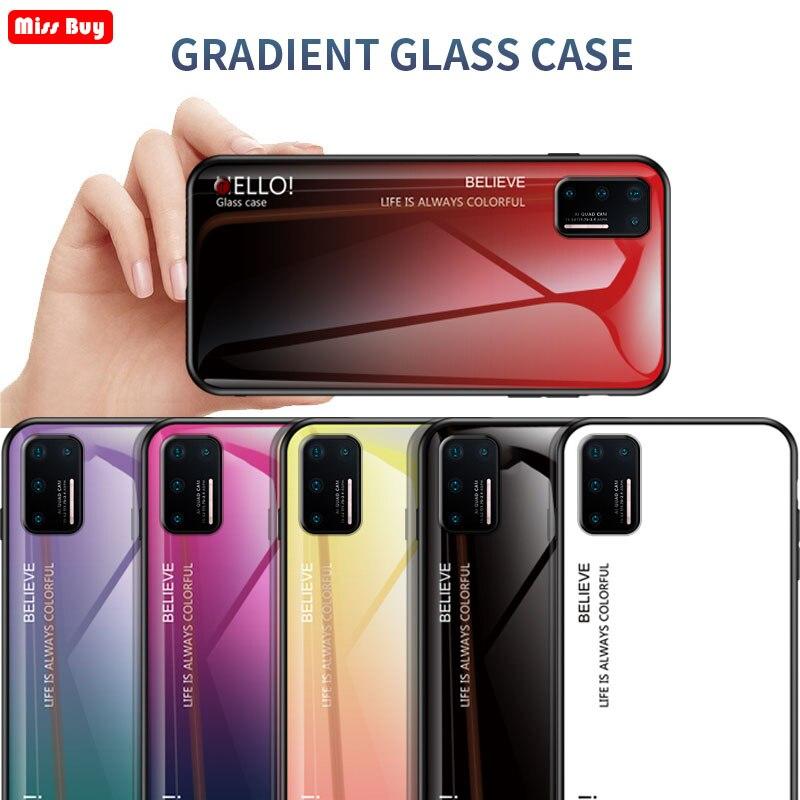 Для Smartisan Nut pro 3 чехол Роскошный градиентный закаленное стекло чехол для телефона s для Smartisan Nut pro 3 чехол защитный чехол Fundas