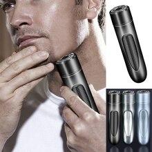 Men  Rechargeable Electric Shaving Beard Machine Razor Mini shaver easy to carry travel razor