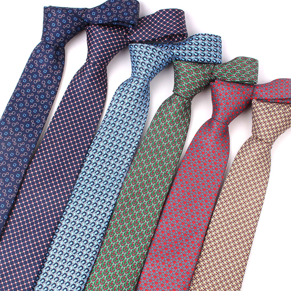 Fashion Print Neck Ties For Men Women Polyester Floral Necktie For Wedding Business Suits Skinny Tie Slim Men Necktie Gravatas