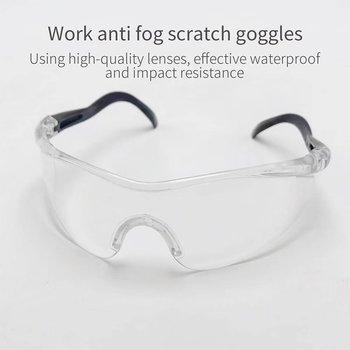 Anti-plutting okulary ochronne ochronne okulary przeciwmgielne izolacja oddychające okulary anty-pluć w pełni wyraźny obraz kolor Box B tanie i dobre opinie Jeden rozmiar Unisex MULTI