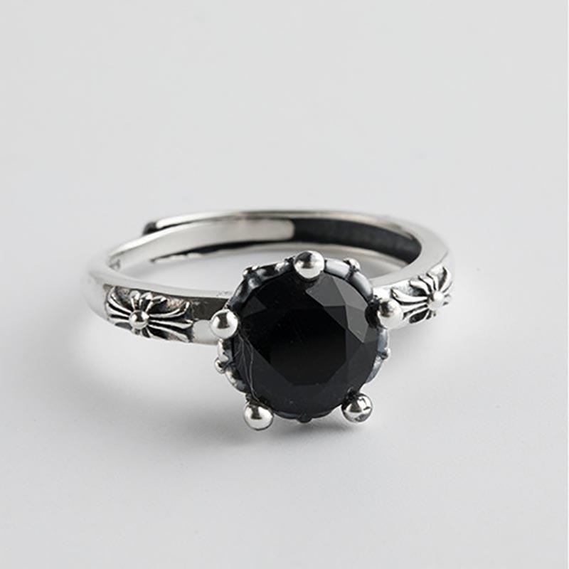 925 Sterling Silver Open Rings for Women 9