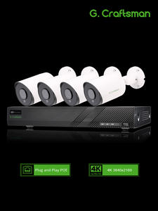Poe-Kit NVR System Surveillance-Alarm Audio-Ip-Camera CCTV Security Sony Outdoor 8ch