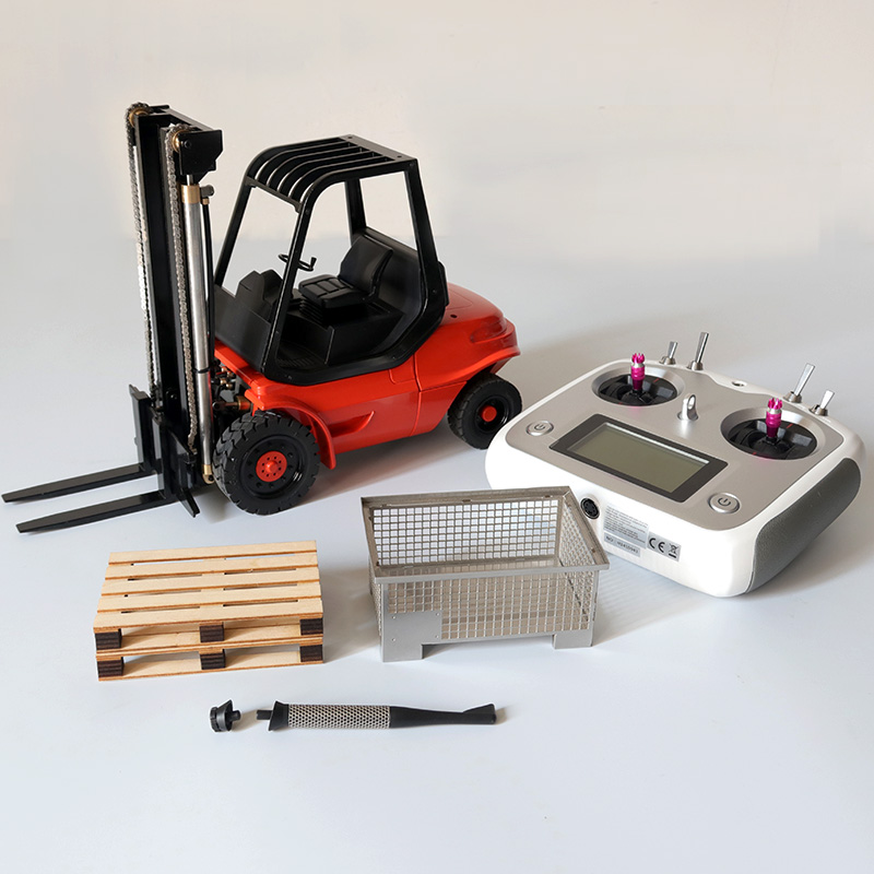 1/14 RC Hydraulic Forklift Set With Remote 3