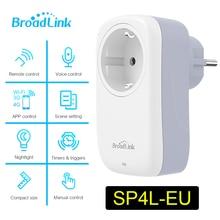 Broadlink SP3S EU Socket New Mini Wifi SP4L EU Socket Timer Plug Work With Alexa Echo Google Home Siri For Smart Home Automation