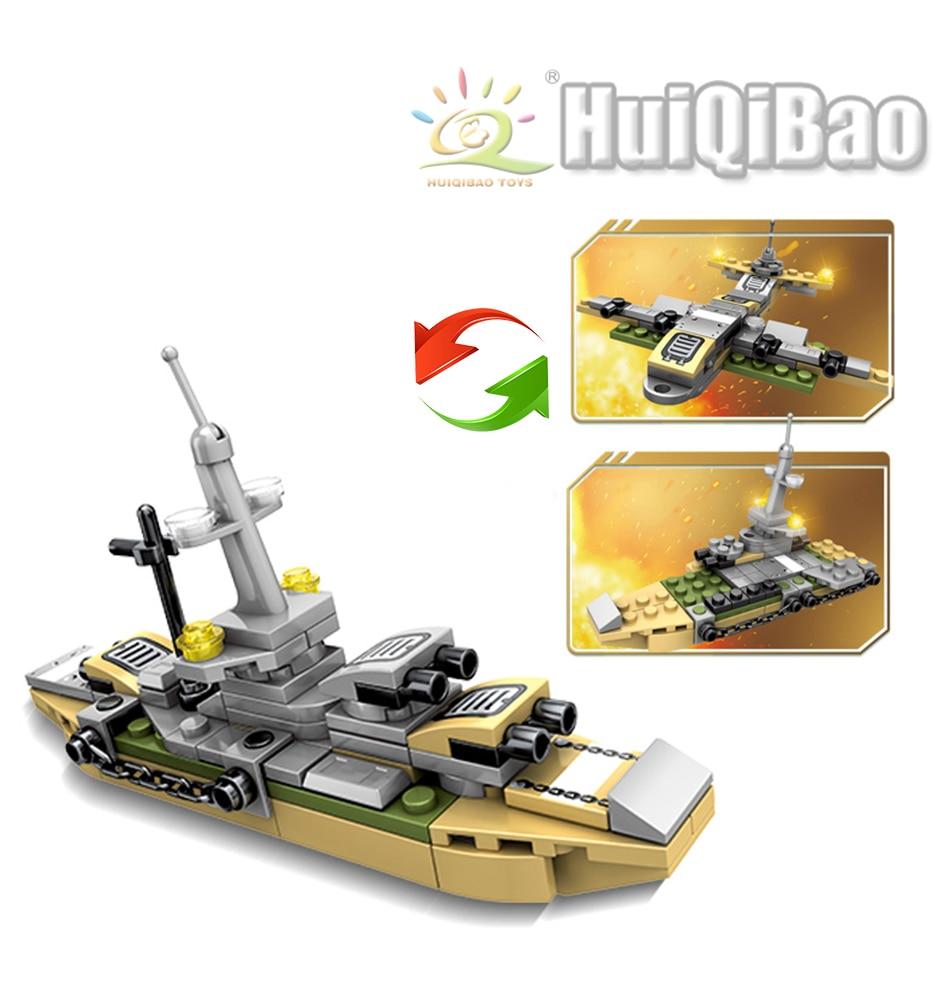 """конструктор huiqibao """"военная техника"""""""