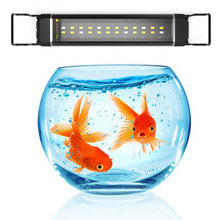 Marine Aquarium LED Lighting 12/24W 28-63cm High Quality Fish Tank Light Lamp Waterproof Aquarium Lights Fish Tank Light