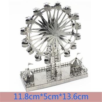 Architecture 3D Metal Puzzles World  32