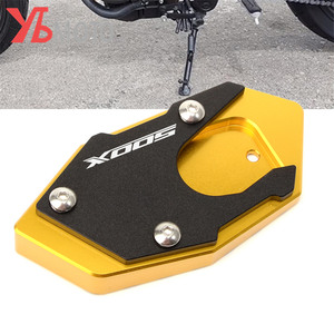Image 1 - Logo 500X Motorcycle Side Stand Pad Enlargement Plate  for HONDA CB500X CB 500X 2017 2018 2019 2020 2021 Kickstand Extension