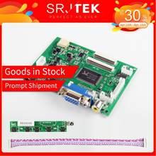Srjtek VS-TY2662-V2 HDMI VGA 2AV 40 /50 Pins PC Controller Board for Raspberry PI 3 EJ101IA-01G 8 bit IPS LCD Display Driver(China)