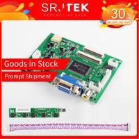 Srjtek VS TY2662 V2 hdmi vga 2av 40 /50 pinos placa de controlador para raspberry pi 3 EJ101IA 01G 8 bit ips display lcd driver|Painéis e LCDs p/ tablet| |  -