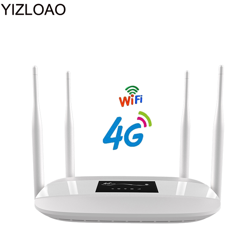 Enrutador Wifi YIZLOAO 4G CPE LTE con ranura Sim, punto de acceso móvil, Mini módem inalámbrico de banda ancha 3G 4G, enrutador portátil Wi-Fi Wiflyer SEL732 módem USB 4G Dongle Wifi tarjeta SIM módem Lte inalámbrico Router Wifi portátil LTE Router para coche de vigilancia Wifi