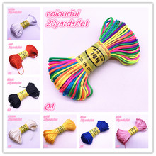 Bracelets Cord String Necklace Knot-Line Chinese Nylon DIY 20yards NEW