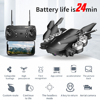 Lozenge HJ28 WIFI FPV Long Battery RC Drone Wide Angle Selfie Quadcopter Altitude Drone With Camera 4K Deone with Storage Bag review