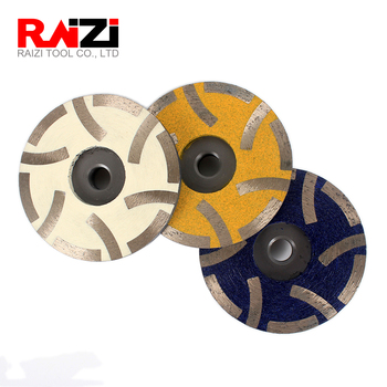 Raizi 4 Inch/100mm Resin Filled Diamond Grinding Disc Granite Marble Stone Cup Wheel Abrasive Tools 4 diamond pcd cup wheel 5 pcs per package free shipping 100mm epoxy coating removal tools 4 segments