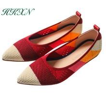 Mocassins femininos cores mistas, loafer, sapatos femininos, slip on, loafer, cores mistas, respirável, confortável, trabalhoSapatilhas femininas