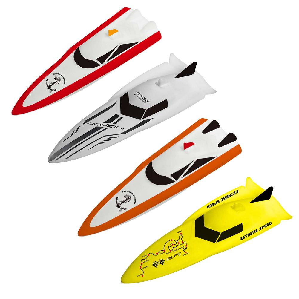 2.4 GHz RC Racing Boat Radio Remote Control Speed Boat High-Speed Strong Power System Fluid Type Design Kids Outdoor Toys