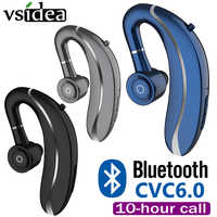 Q10 Driving Wireless Earbud Ear Hook Bluetooth Earphone 210mAh Single Handfree with Microphone for Iphone11 Samsung HUAWEI ALL