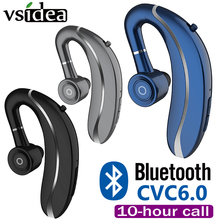 V910 Driving Wireless Earbud Ear Hook Bluetooth Earphone 210mAh Single Handfree