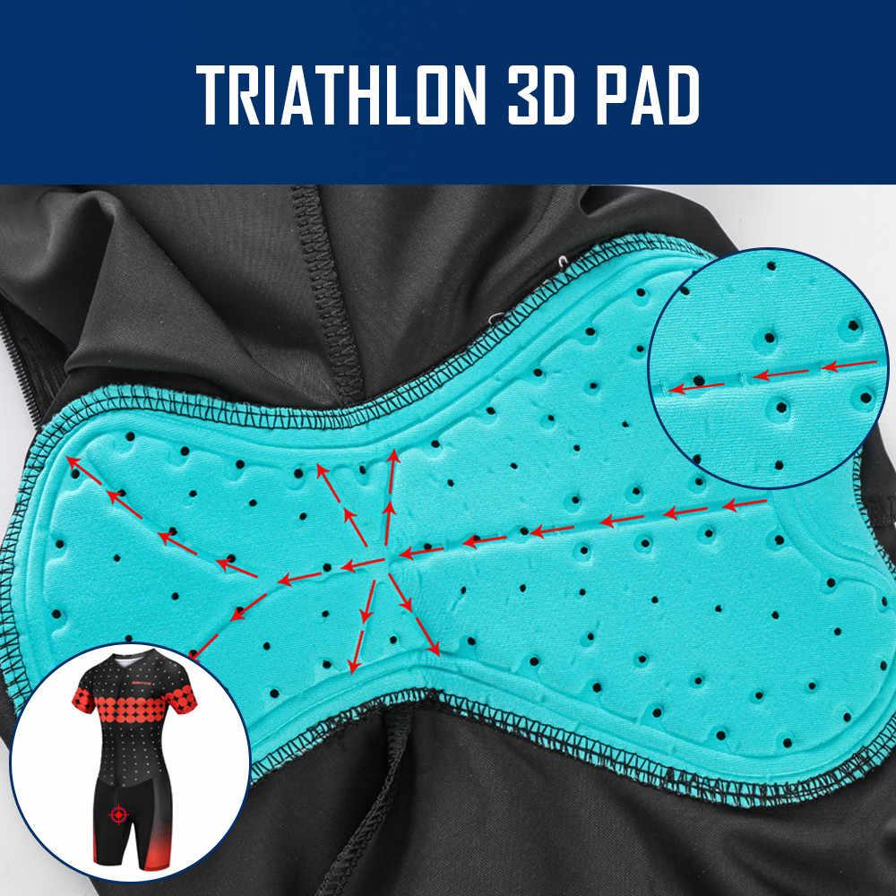 Bersepeda Jersey 2019 Musim Panas PRO TIM Ropa Ciclismo Pendek Lengan Bersepeda Pakaian Set Triathlon Suit Sepeda Pakaian 3D Pad