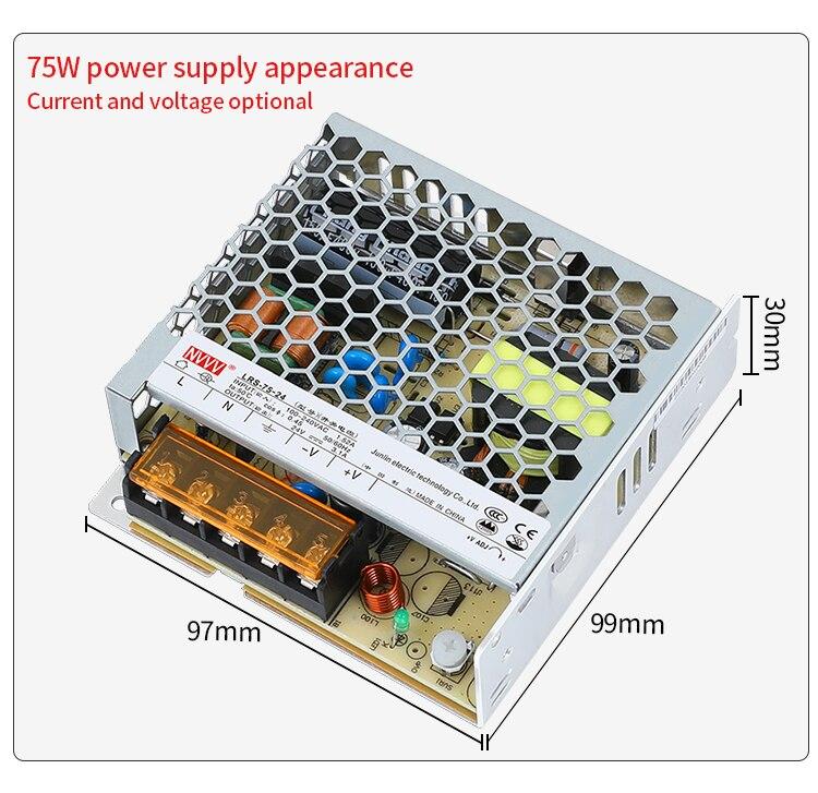 Hfdd74cf451e54f70a09cce3f57bca4acU - NVVV switching power supply, LRS series new ultra-thin ac 110V 220V to DC12V 24V, 24V dc power supply 12V dc power supply