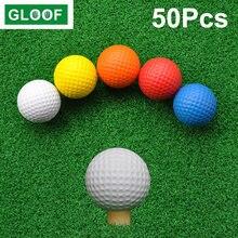 50 шт = 10 Набор облегченных пенопластовых мячей для игры в