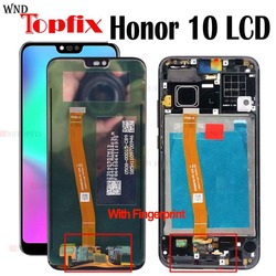 100% Tested For Huawei Honor 10 LCD Display Touch Screen With Frame COL-L29 For Huawei Honor 10 LCD Screen With FingerPrint LCD