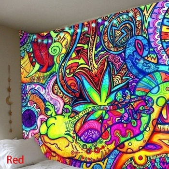 Illusory Art Tapestry Ins Tapestry Household Bedside Decoration Cloth Hanging Tapiz Tapestry Wall Hanging Tapestries Room Decor 6