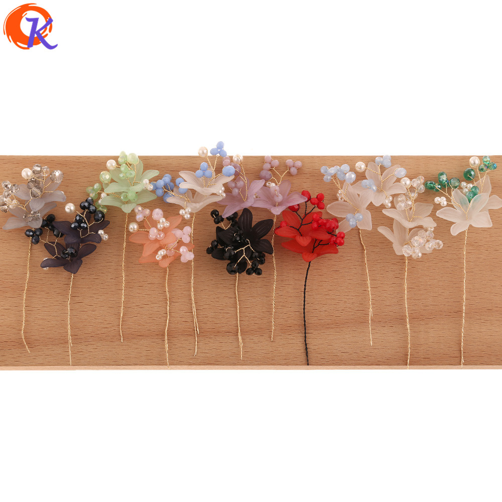 Cordial Design 20Pcs 26*90MM Jewelry Accessories/Hand Made/Flower Shape/DIY Jewelry Making/Earring Findings/Crystal Bead Charms
