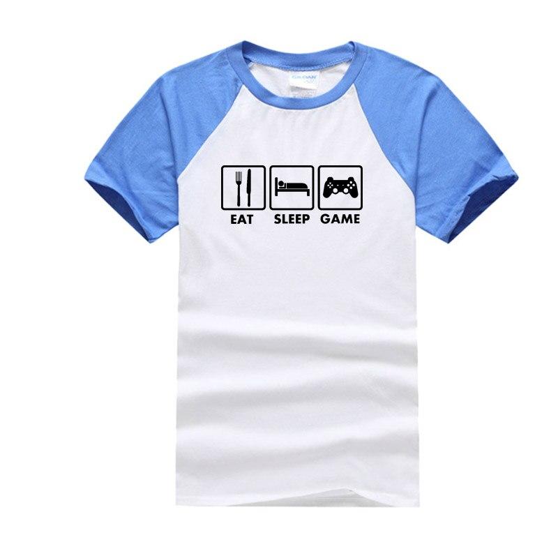 cotton t shirts blue
