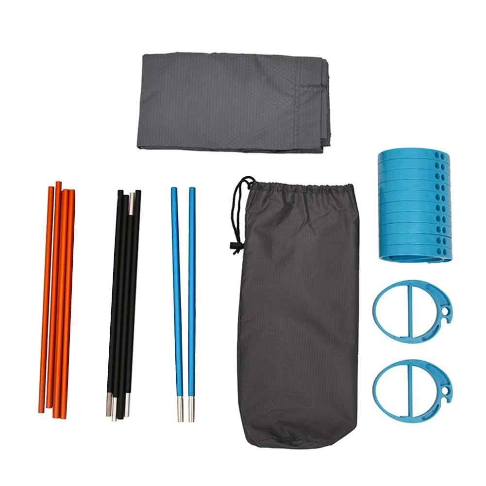 Cuna plegable portátil de aleación de aluminio para acampar, para viajes, senderismo, pesca, caza, playa, Camping