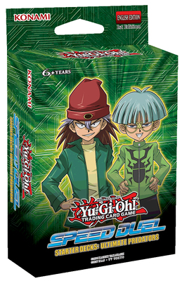 Yu Gi Oh High Speed Duel Speed Duel - Ultimate Predators Toy Hobby Collection Game Collection Anime Card