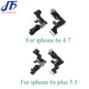 Image 1 - 10Pcs Small Front Facing Camera for iPhone 6 6S Plus 6SP 6P 6G 5 5S 5C SE 5G Flex Cable with Light Proximity Sensor Microphone