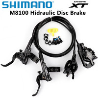 Shimano Deore XT M8000  M8100 Disc Brake Mountain Bike XT Hydraulic Disc Brake 11 Speed MTB Ice-Tech Left & Right  1500 1600mm