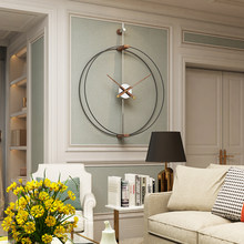 69CM Large Wall Clock Modern Design Clocks For Home Decor Office Iron Art Watch European Style Hanging Wall Watch Christmas Gift