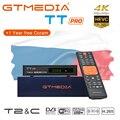 GTMEDIA TT PRO DVB-T2/кабель цифровой спутниковый ресивер ТВ тюнер Бесплатный Wifi цифровой рецептор HD1080P Чехия