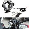 Pour Kawasaki Ninja EX500 650R ER6F ER6N 250 300R 300 moto lumière led phare lampe auxiliaire U5 projecteur moto lumière