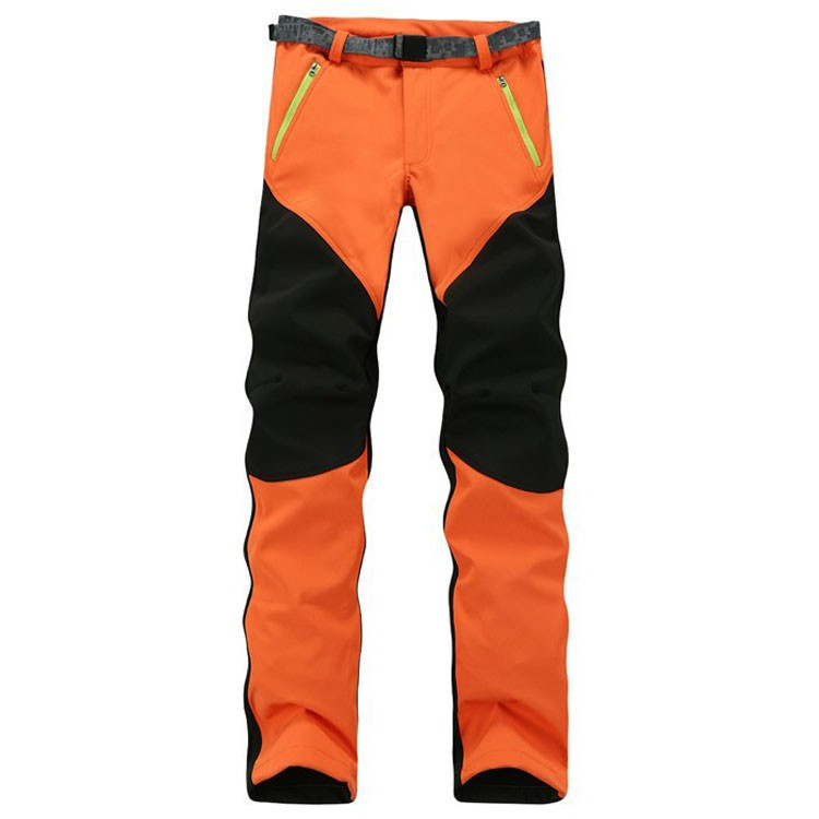 New Winter And Autumn Men SoftShell Fleece Windproof Pants Fashion Casual Mens Warm Long Pants 801