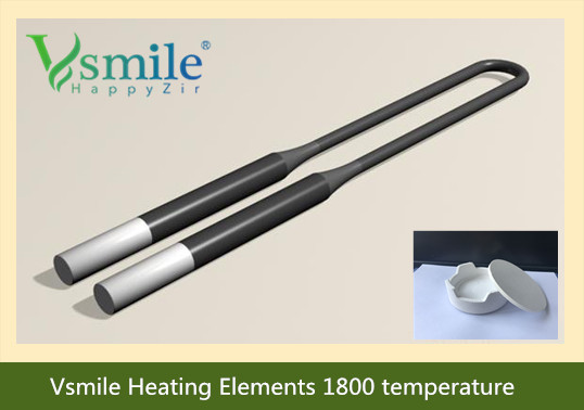 Zirconia Funance Heating Elements High Purity Tempreature 1800'c , Zirconzahn 600 And Naberthram And Ivoclar Funance Compatiable