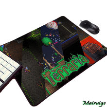 Terraria Video Game Computer Gaming Mousepad Small Size Mini Pc Computer Gamer Play Table Mouse Mat Pad To Keyboard(China)