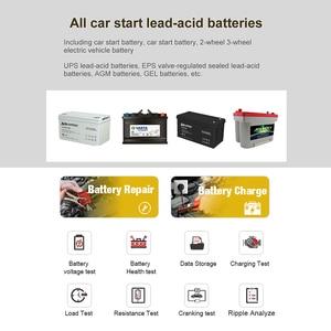 Image 3 - KONNWEI KW510 Volle Auto Batterie Tester 12V 5A Puls Reparatur Auto Ladegeräte Nass Trocken Blei Säure netzteil Auto batterie Reparatur Werkzeug