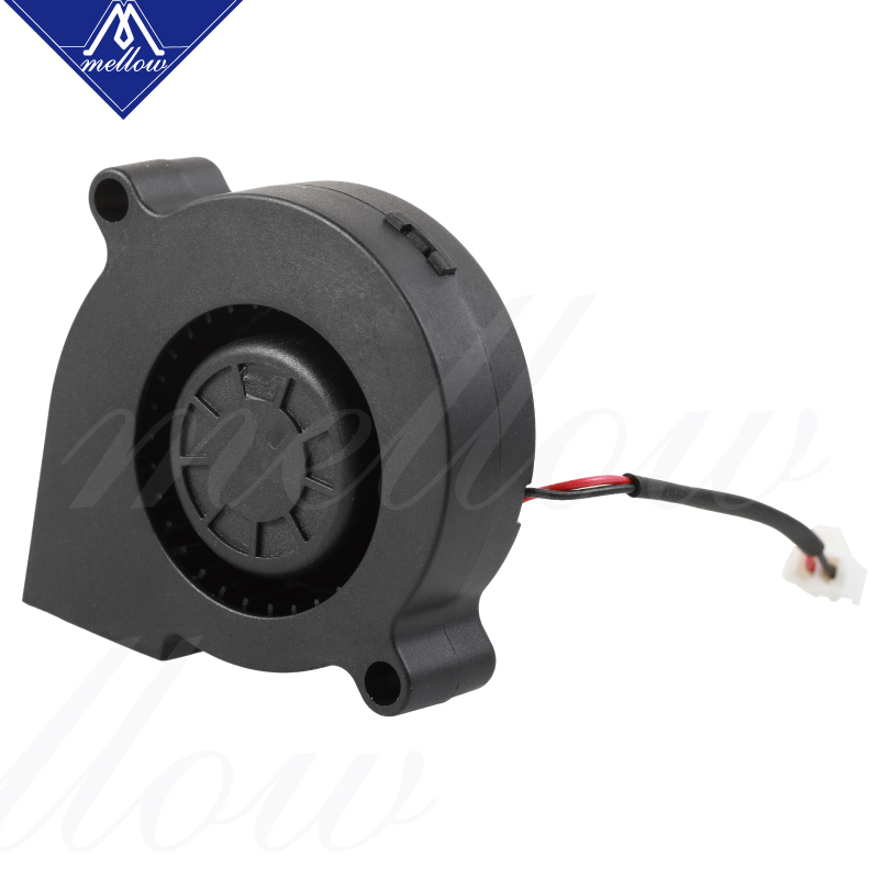 lowest price Mellow Exclusive Sunon 3D Printer Blower Fan 5015 24V 0 41A Double Bearing Fan Centrifugal DC Cooling Turbo Fan 5015S