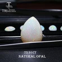 Tbj чудесный Блестящий опал 7391 карата драгоценный натуральный