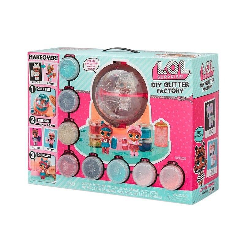 LOL Surprises Originales LOLs Dolls DIY Color Workshop Doll Dress Up Toy Gift for Girl Christmas Present for Children|Storage Boxes & Bins| |  - title=