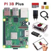 Basis-Kit Raspberry Pi Protective-Case with 32G Tf-Card And Heatsink Eu-Power 3b-Plus