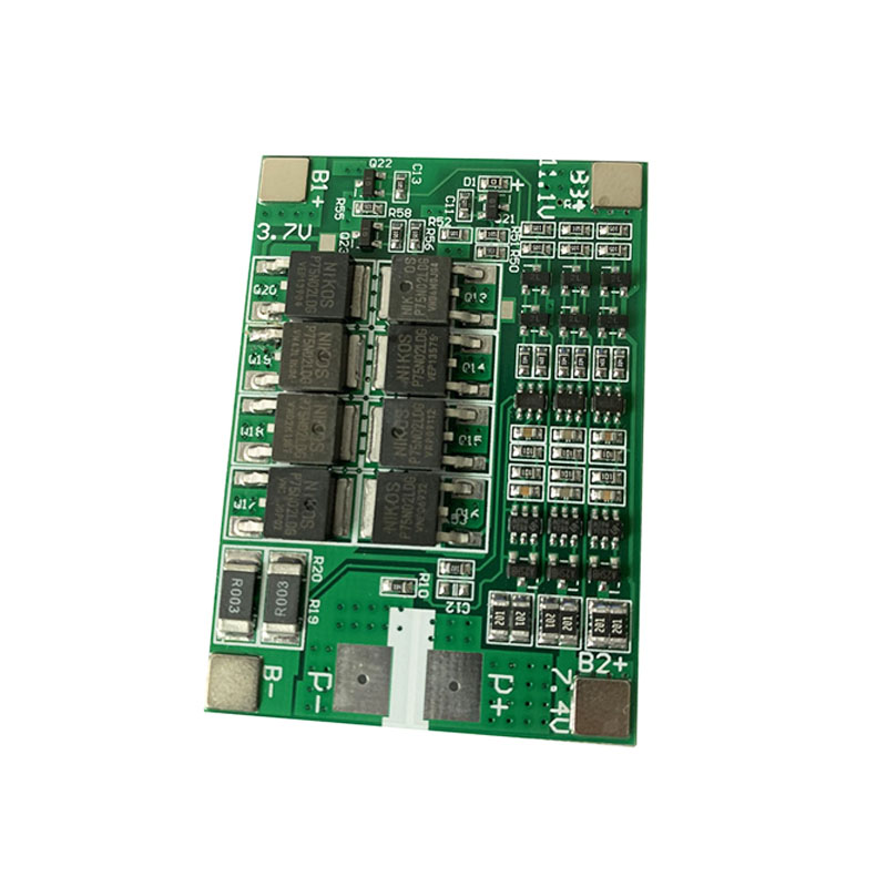 <font><b>3S</b></font> <font><b>40A</b></font> 11.1V 12V <font><b>BMS</b></font> <font><b>18650</b></font> Lithium Battery Protection Board With Balance For <font><b>18650</b></font> Battery Balancer Plate Equalizer Accessories image