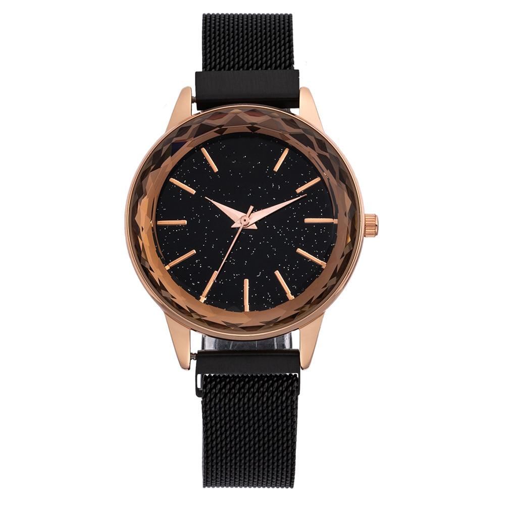 Women Bracelet Brand Watches SA74 Fashion Girls Dress Diamond Saats Ladies Analog Quartz Rose Gold Clock Relogio Feminin